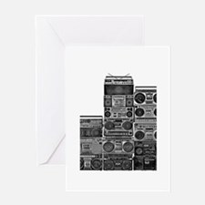 BOOMBOX COLLECTION Greeting Card
