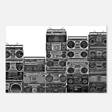 BOOMBOX COLLECTION Postcards (Package of 8)