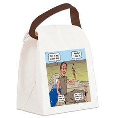 Jobs Very Bad Day Canvas Lunch Bag