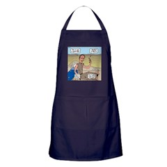Jobs Very Bad Day Apron (dark)