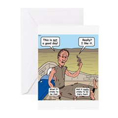 Jobs Very Bad Day Greeting Cards (Pk of 20)