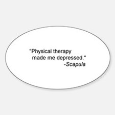 Physical Therapy / Rehab Quote Decal