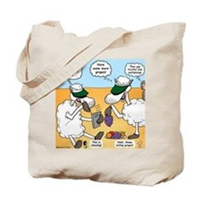 Fruitful and Multiplying Sheep Tote Bag