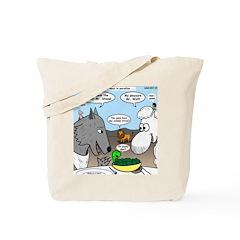 Sheep, Wolf, et al Tote Bag
