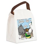 Sheep, Wolf, et al Canvas Lunch Bag