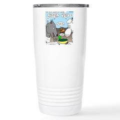 Sheep, Wolf, et al Stainless Steel Travel Mug
