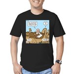 Camel Talk Men's Fitted T-Shirt (dark)