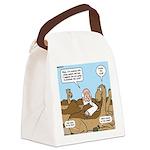 Camel Talk Canvas Lunch Bag