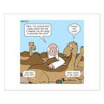 Camel Talk Small Poster