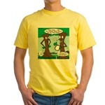 Trees Clapping? Yellow T-Shirt