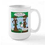 Trees Clapping? Large Mug