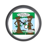 Trees Clapping? Wall Clock