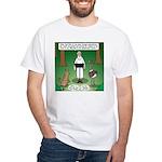 Ostrich Jackal Sermon White T-Shirt