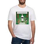 Ostrich Jackal Sermon Fitted T-Shirt
