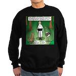 Ostrich Jackal Sermon Sweatshirt (dark)