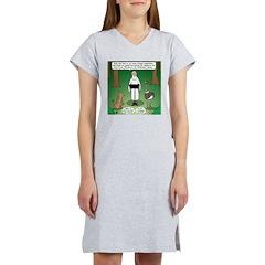 Ostrich Jackal Sermon Women's Nightshirt