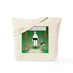 Ostrich Jackal Sermon Tote Bag