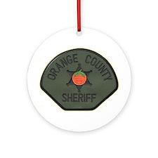 Orange County Sheriff SWAT Ornament (Round)