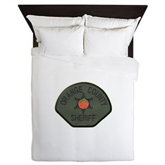 Orange County Sheriff SWAT Queen Duvet
