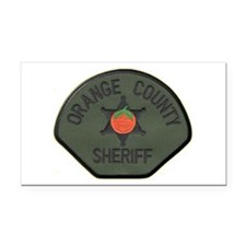 Orange County Sheriff SWAT Rectangle Car Magnet