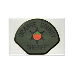 Orange County Sheriff SWAT Rectangle Magnet (100 p