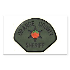 Orange County Sheriff SWAT Decal