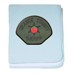 Orange County Sheriff SWAT baby blanket