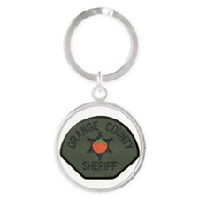 Orange County Sheriff SWAT Round Keychain