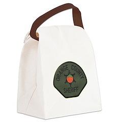 Orange County Sheriff SWAT Canvas Lunch Bag