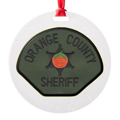 Orange County Sheriff SWAT Ornament