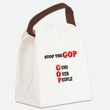 STOP THE GOP Canvas Lunch Bag
