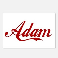 Adam name Postcards (Package of 8)