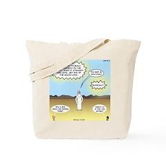 God's Interstate Highway Tote Bag