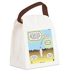 God's Interstate Highway Canvas Lunch Bag