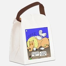 Lion and the Lamb Canvas Lunch Bag