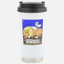 Lion and the Lamb Stainless Steel Travel Mug