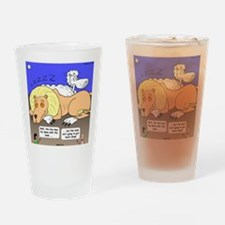 Lion and the Lamb Drinking Glass
