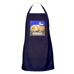 Lion and the Lamb Apron (dark)