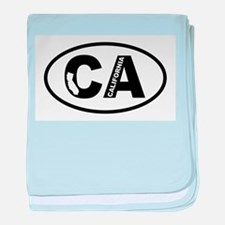 California! baby blanket