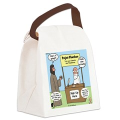 Plowshare Booth Canvas Lunch Bag
