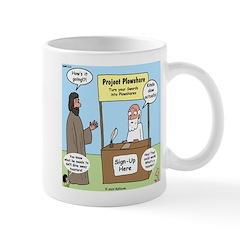 Plowshare Booth Mug
