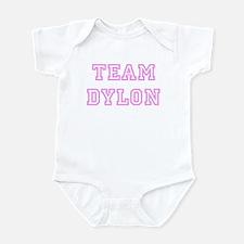 Pink team Dylon Infant Bodysuit