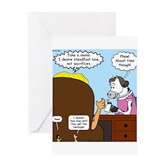 God Memo Greeting Card