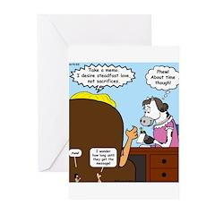 God Memo Greeting Cards (Pk of 20)