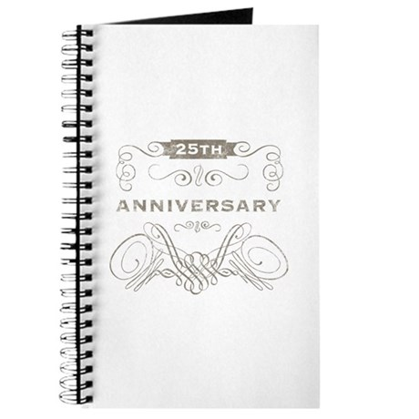 25th Vintage Anniversary Journal