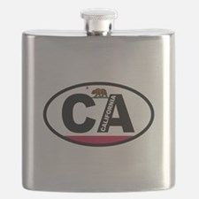 California Flag Flask
