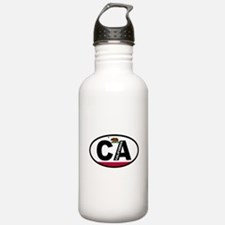 California Flag Water Bottle