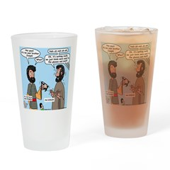 Joseph Revealed Drinking Glass