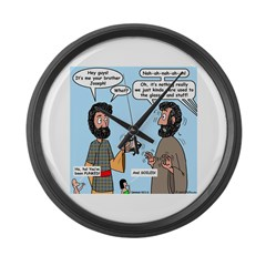 Joseph Revealed Large Wall Clock