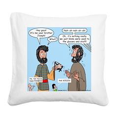 Joseph Revealed Square Canvas Pillow